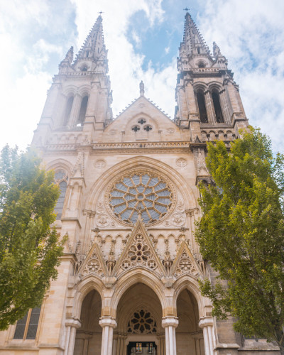 Saint-Louis Church of the Chartrons in Bordeaux, France