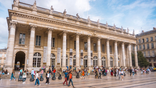 Grand Theatre in Bordeaux, France